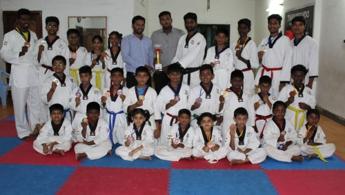 Madurai District Taekwondo Championship- 2017