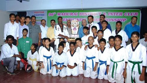 Madurai District Taekwondo Championship- 2015