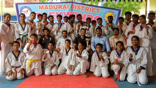 Madurai District Taekwondo Championship - 2016