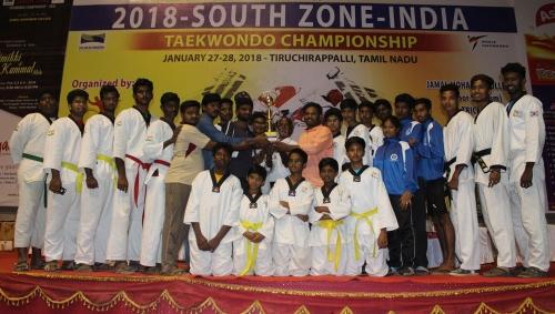 South Zone Taekwondo Championship-27 and 28 Jan 2018